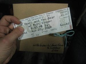 PaTB Ticket